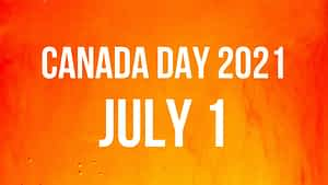 Canada Day 2021 July 1